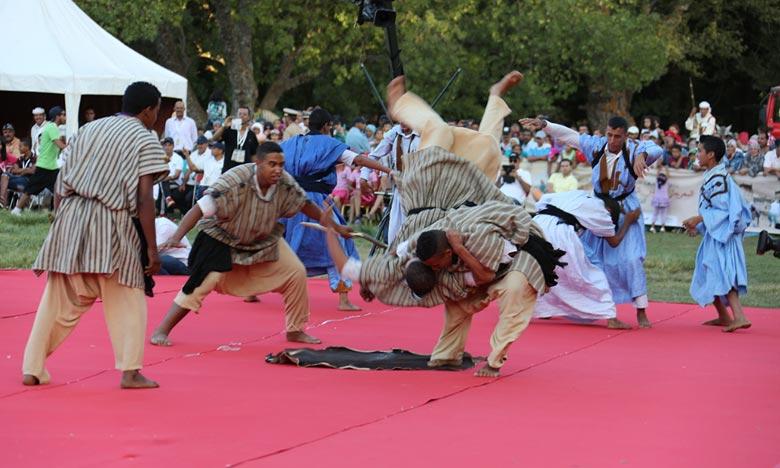 Le Festival africain de Smara a, pour objectif, de contribuer à la préservation des jeux traditionnels en tant que patrimoine culturel immatériel et d'instaurer une dynamique sportive authentique. Ph : DR