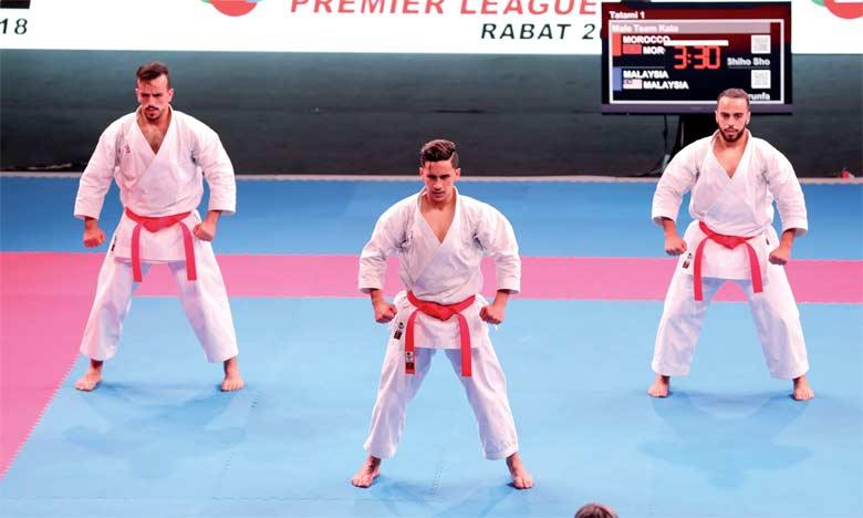 L'équipe marocaine de kata s'adjuge la médaille d'or