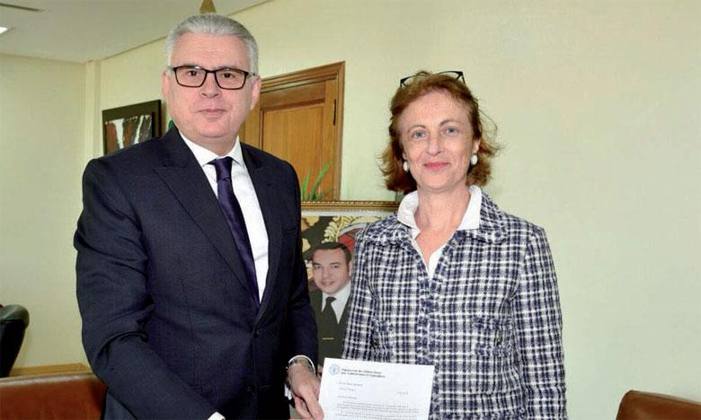 Florence Rolle, nouvelle représentante de l'Organisation des Nations unies pour l'alimentation et l'agriculture au Maroc