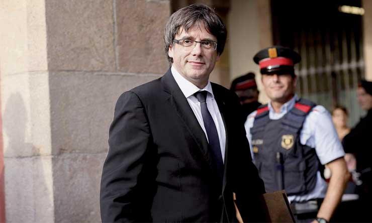 La perspective d'une extradition  de l'ex-président catalan Carles Puigdemont se rapproche