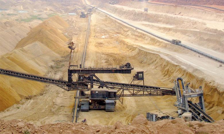 Au Maroc, le secteur minier emploie 40.000 salariés pour une production estimée à 28,73 millions de tonnes. Ph. DR