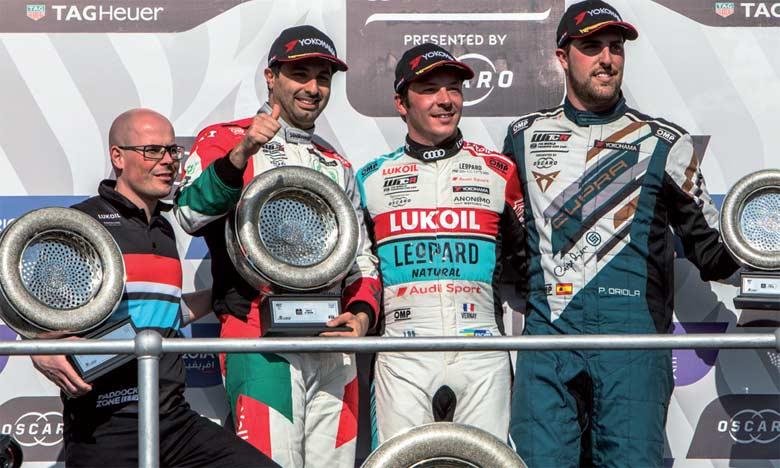 Le pilote Audi Sport Leopard Lukoil Team, Jean-Karl Vernay a remporté le GP race of Morocco.