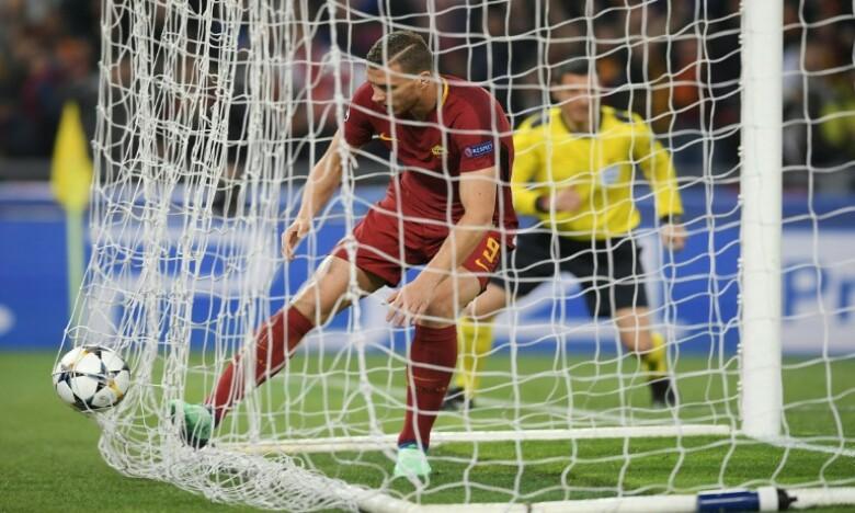 La Roma renverse le Barça et accompagne Liverpool en demi-finale