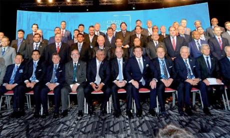 Le Maroc fait la promotion de sa candidature à Buenos Aires au congrès de la Conmebol