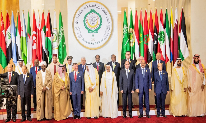 Début à Dhahran du 29ème sommet de la Ligue arabe