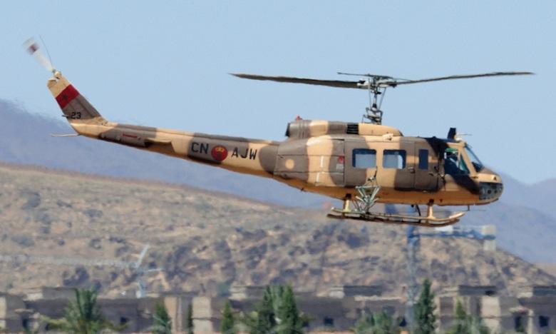 Un hélicoptère des FAR s'abîme au sud d'Errachidia