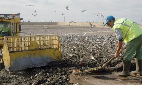 Le rapport du HCP de 2107 révèle que 65% des Marocains ne sont pas satisfaits de la qualité de gestion actuelle des déchets ménagers.                                                                                                                                   Ph. DR