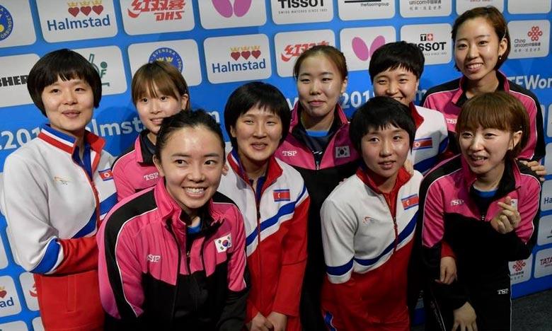 Les deux Corées décident de se présenter en équipe unie