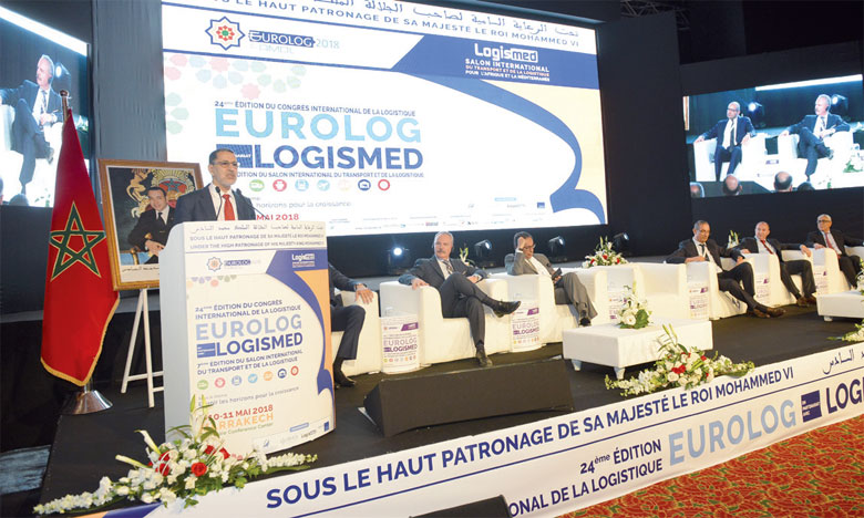 Le chef du gouvernement, Saâd Eddine El Othmani, a confirmé la détermination du gouvernement  à poursuivre la mutation positive du secteur de la logistique que connait le MarocPh. Saouri