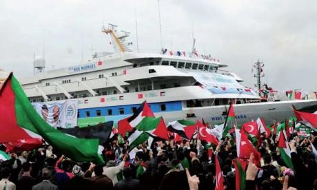 Un bateau partira aujourd'hui de Gaza pour briser le blocus israélien