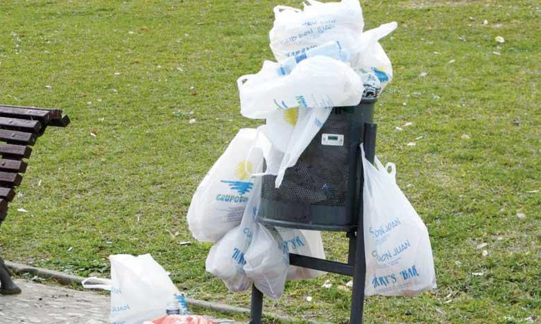 L'Espagne interdira les sacs  en plastique à partir de 2021