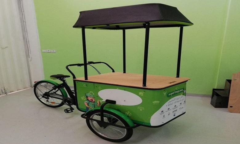 Les tricycles Pickalty arrivent à Marrakech