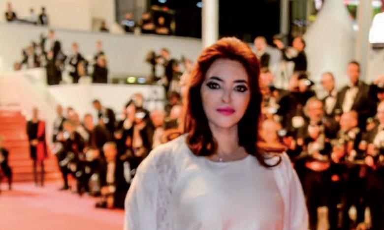 Zoulikha Ghallab à Cannes