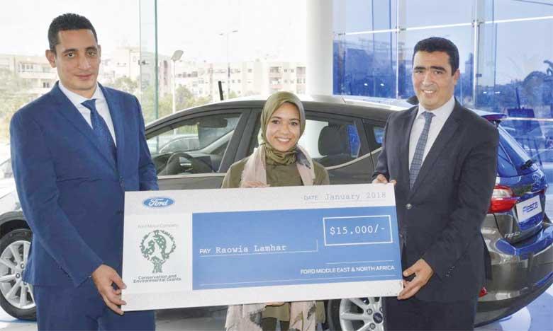 Ford Motor Company accorde un prix de 25.000 dollars au Maroc