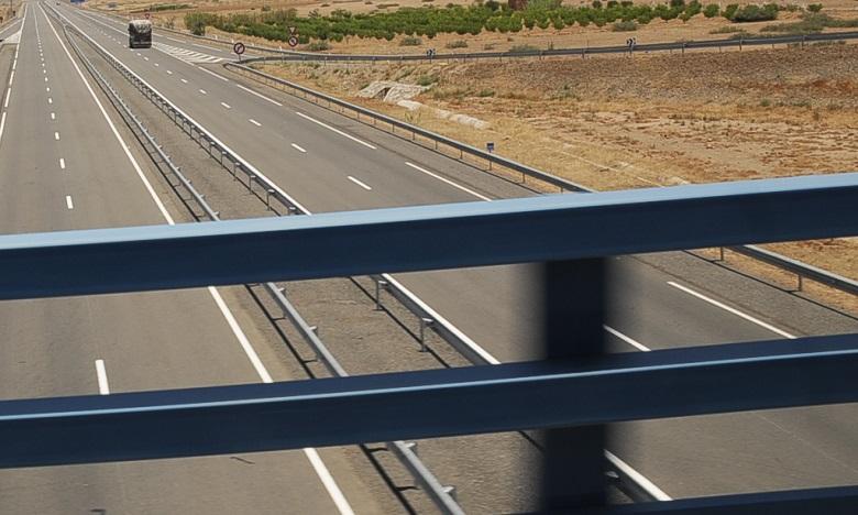 Le pont autoroutier de Mohammedia fin prêt