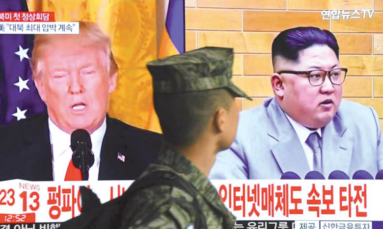 Le président Trump annule sa rencontre avec Kim Jong-un