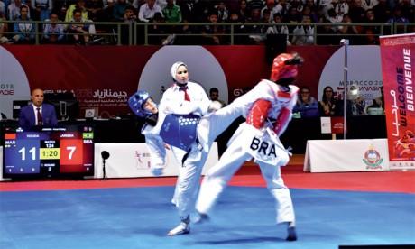 Le Maroc domine les épreuves de boxe, de taekwondo et de tennis