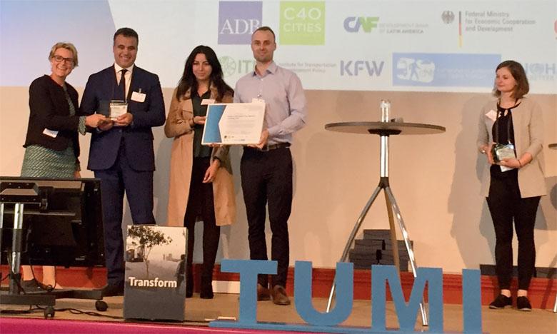 Le Prix Tumi a été décerné le 22 mai à Leipzig en marge du Forum international des transports.