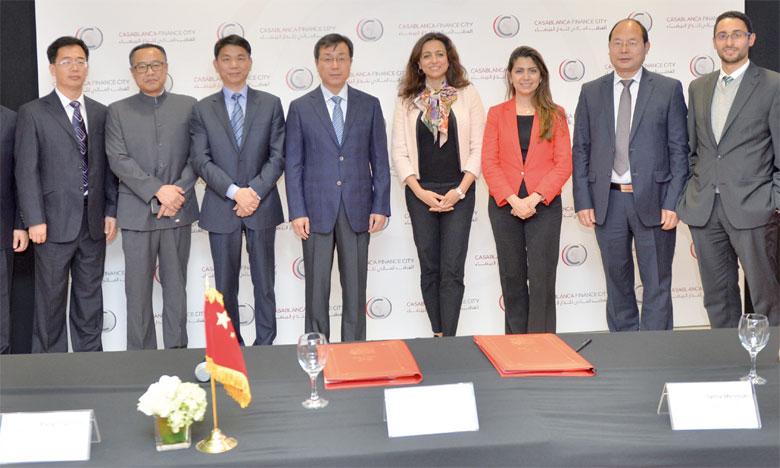 Après Singapour, Londres, Luxembourg, CFC signe un premier partenariat avec une place financière chinoise.