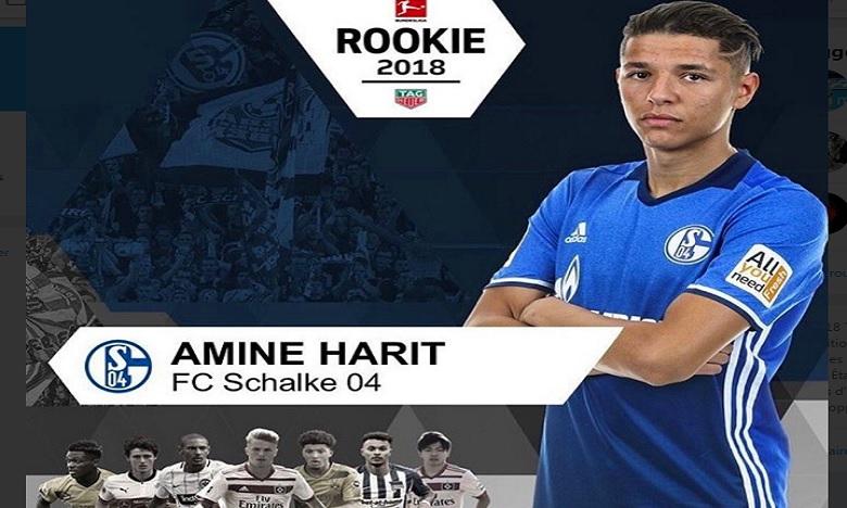 Amine Harit Rookie de l'année en Bundesliga