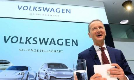 Herbert Diess, président du directoire du Groupe Volkswagen.