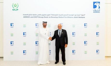OCP et ADNOC envisagent de créer une joint-venture