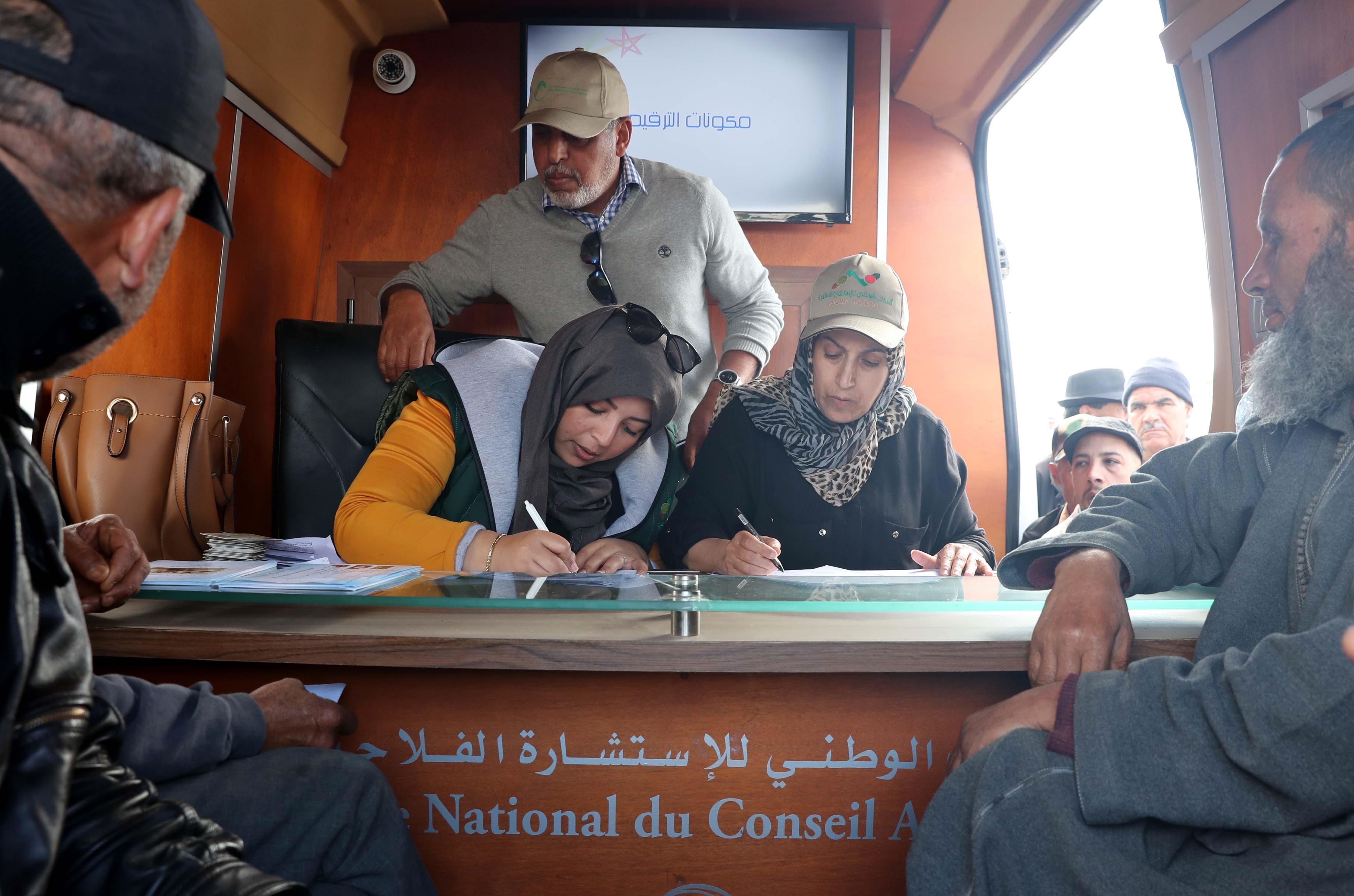 L'opération permettra à l'ONSSA de disposer d'une base de données des éleveurs engraisseurs des ovins et caprins destinés à l'abattage à l'occasion de l'Aïd Al Adha. Ph. MAP