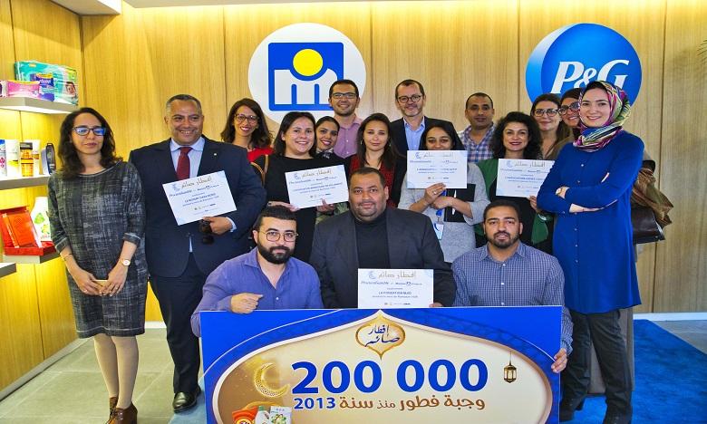 Et de 6 pour la campagne de solidarité de Procter & Gamble Maroc