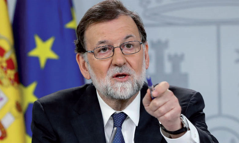 Rajoy affirme qu'il ne démissionnera pas à cause de la motion de censure du PSOE
