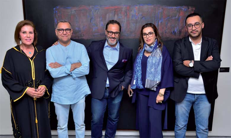 De gauche à droite: Malika Ratnane, Mohamed Kohen, Abdelhak Najib, Meryem Bouzoubaa et Mounir Serhani.