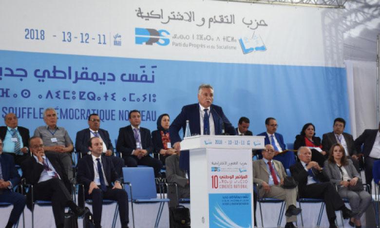 Nabil Benabdellah gagne la confiance  de ses camarades pour un troisième mandat