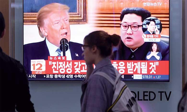 Pyongyang toujours prêt au dialogue avec Washington, Trump salue la réaction «productive»