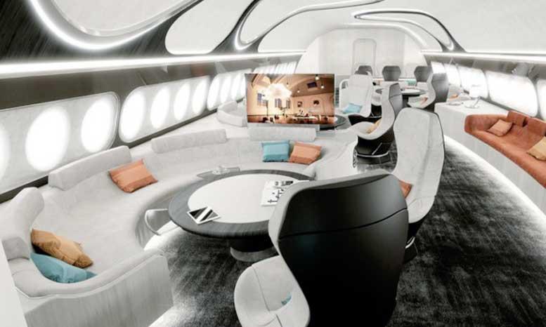 Airbus dévoile son nouveau concept de cabine VIP