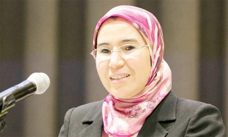 Nezha El Ouafi, secrétaire d'État chargée du Développement durable.  Ph. DR
