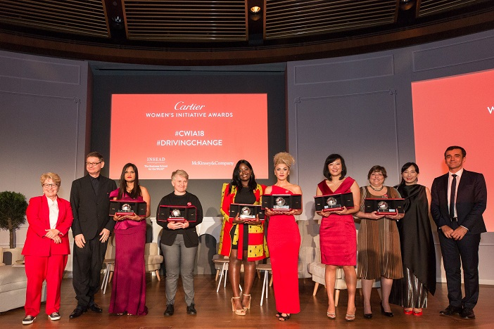 Cartier révèle les 6 lauréates des Cartier Women's Initiative Awards 2018