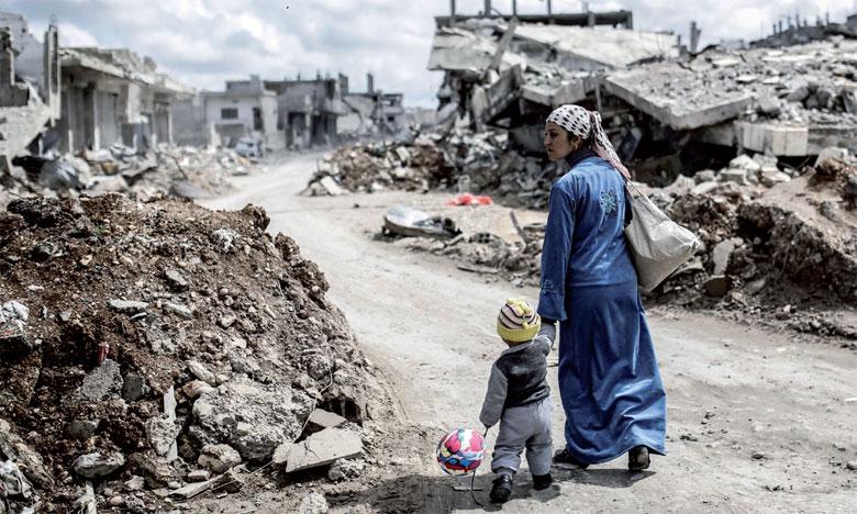 Près de 31 millions de déplacés en 2017