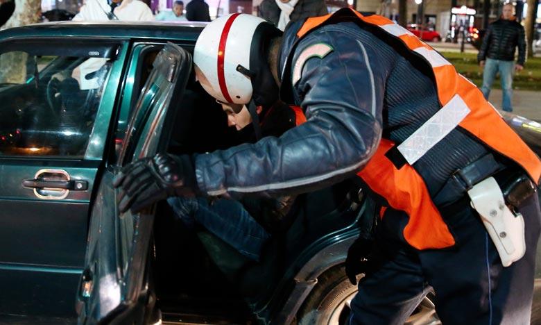 Le brigadier de police a été appréhendé à bord de sa voiture en possession de 115 kg de hachich qu'il comptait livrer à des complices pour les transporter à l'étranger. Ph : MAP