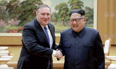 Selon le chef de la diplomatie américaine, Kim veut une «aide économique» et des «garanties de sécurité»