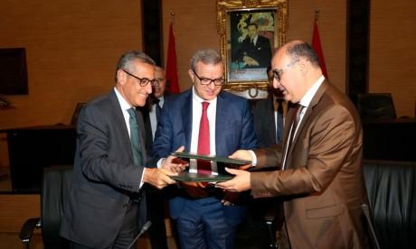 Le bâtonnat de Casablanca et l'ANCFCC renforcent leur échange