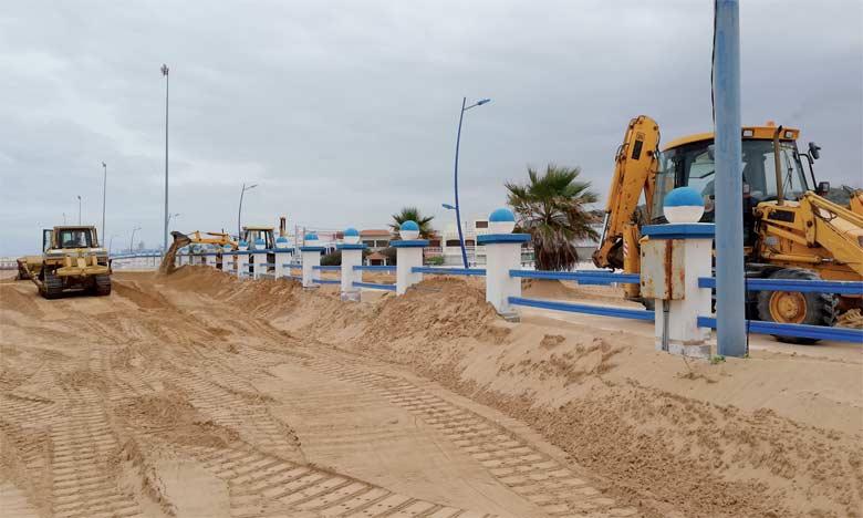 La direction de l'équipement à la rescousse de la plage Souiria