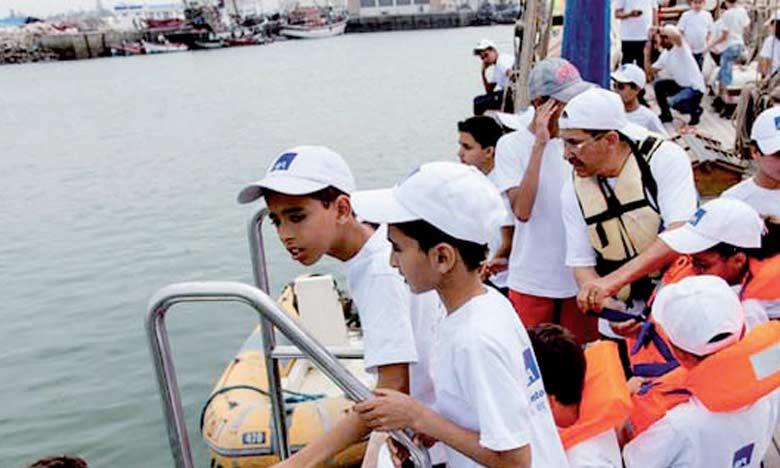 Comme à chaque édition, l'archipel des enfants permet aux plus petits de pratiquer différentes activités sportives. Ph. DR