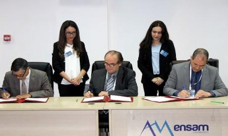 L'ENSAM Casablanca s'allie au Groupe PSA