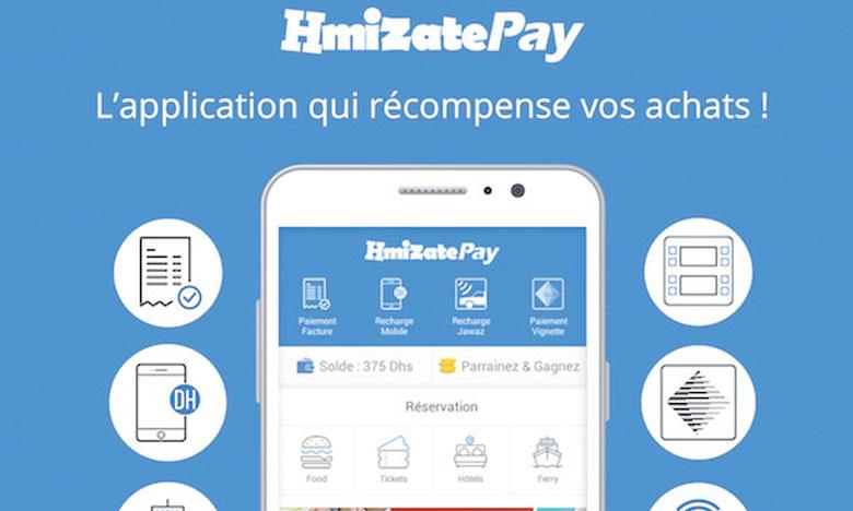 HmizatePay centralise les services dont peuvent avoir besoin les utilisateurs.
