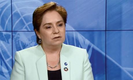 La secrétaire exécutive de la Convention-cadre des Nations unies sur le changement climatique  (CCNUCC), Patricia Espinosa. Ph. ONU