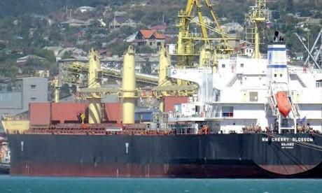 Le navire saisi illégalement en Afrique du Sud quitte les eaux territoriales sud-africaines, sa cargaison restituée à son propriétaire légitime le Groupe OCP