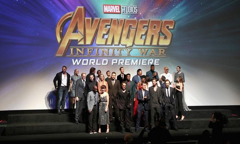 «Avengers: Infinity War» a rapporté 453,1 millions de dollars en Amérique du Nord en deux semaines d'exploitation. Ph. AFP