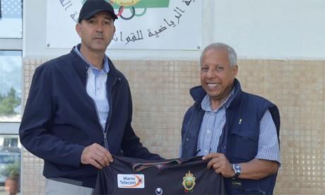 Mhammed Fakhir: «Je suis venu  à l'AS FAR pour gagner des titres»