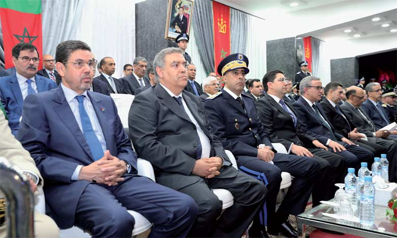 Commémoration du 62e anniversaire de la création  de la Sûreté nationale