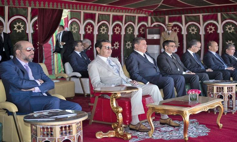 S.A.R. le Prince Moulay Rachid préside la cérémonie de remise du 19e Trophée Hassan II des arts équestres traditionnels «Tbourida»