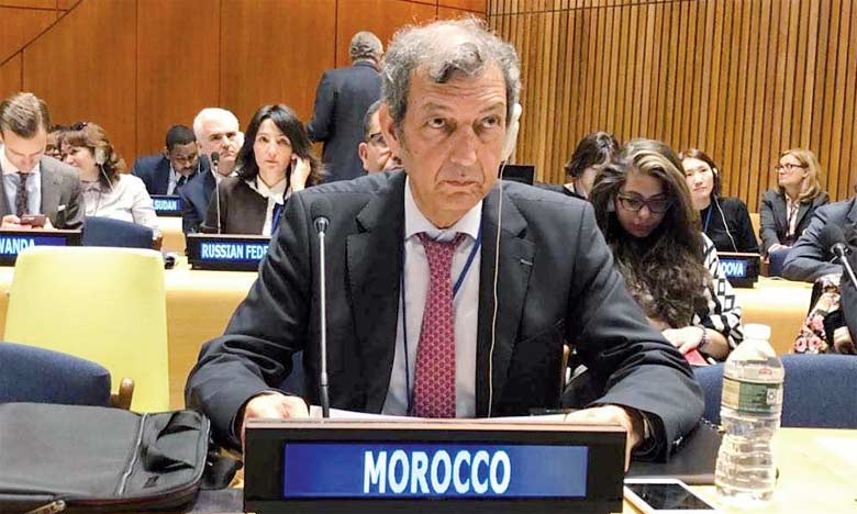 Le haut commissaire aux Eaux et forêts et à la lutte contre la désertification, Abdeladim Lhafi, représente le Maroc à la 13e édition du Forum des Nations unies sur les forêts qui se poursuit jusqu'au 11 mai à New York.  Ph. DR
